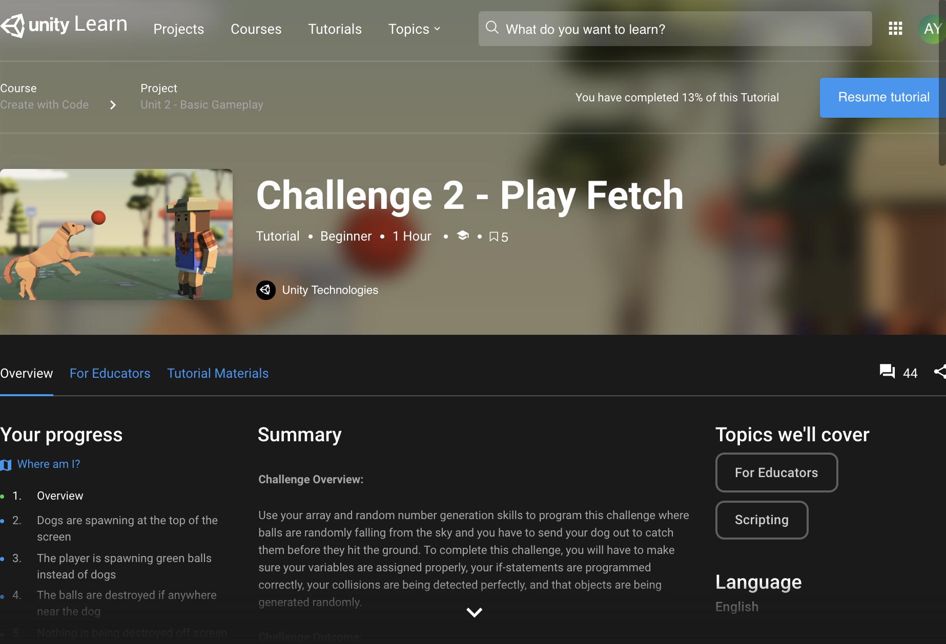 Alvin Yee - Challenge 2