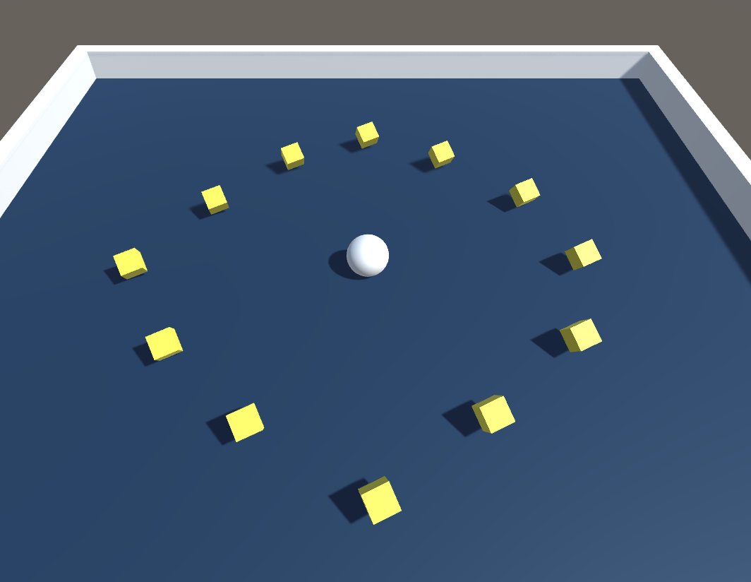 Roll-a-ball (from Unity's Roll-a-ball tutorial project)
