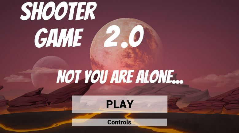 Shooter Game 2.0 - Not you are Alone