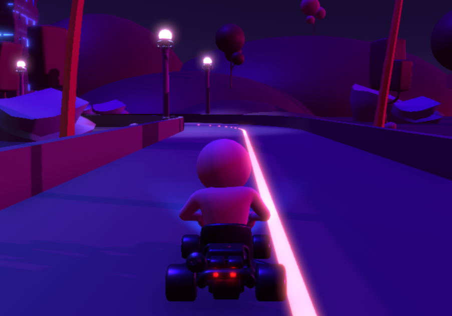 Karting in Night City
