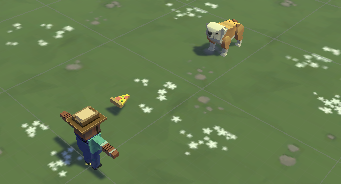 Pizza Farm Animals