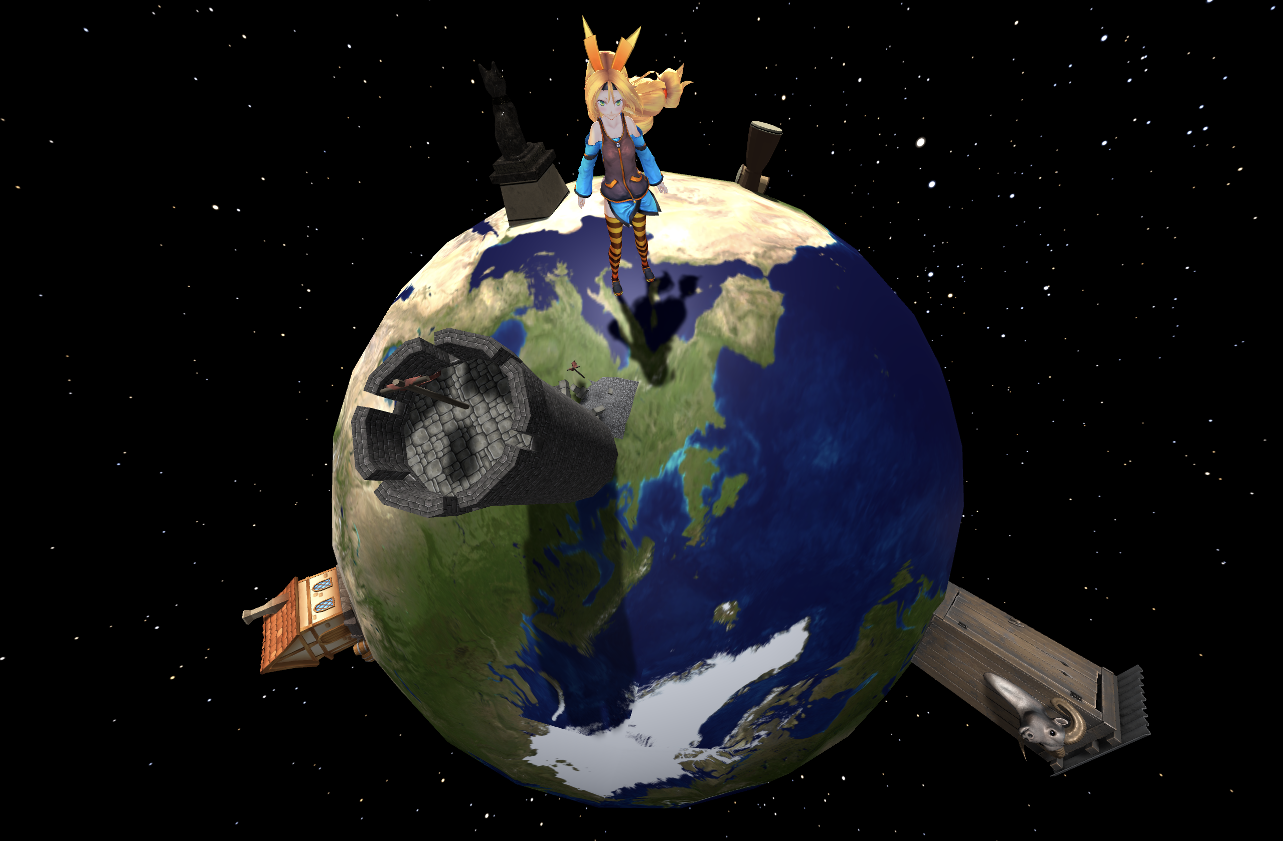 Chan's saving the planet exposing the president. (Work-In-Progress Version 1.1)