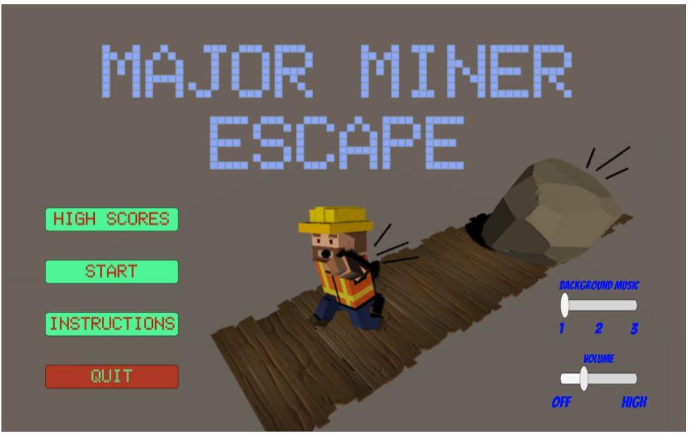 Major Miner Escape