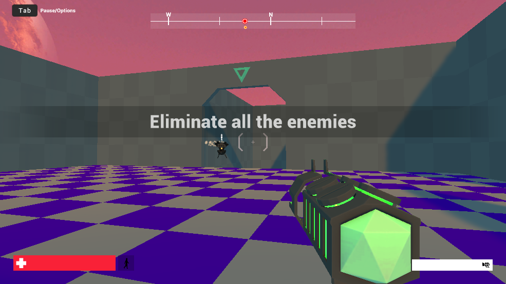 My first FPS game