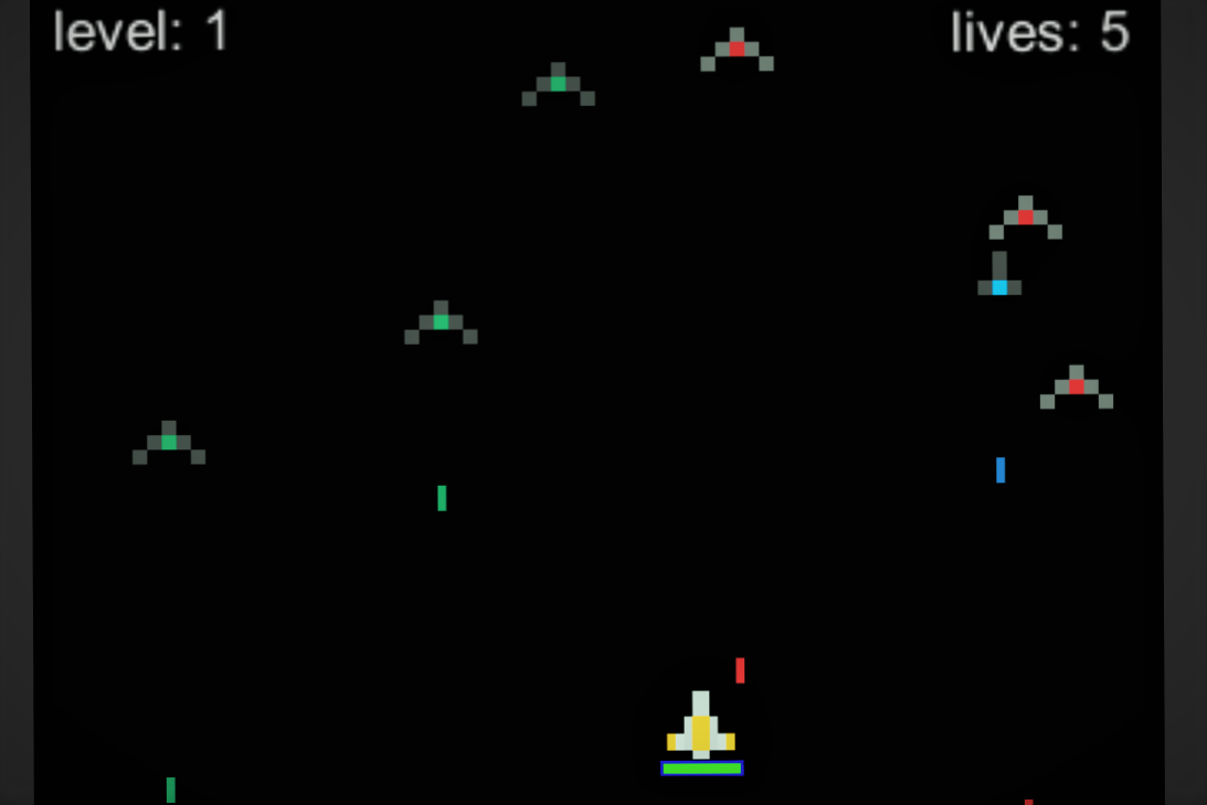 My Space Invaders Game