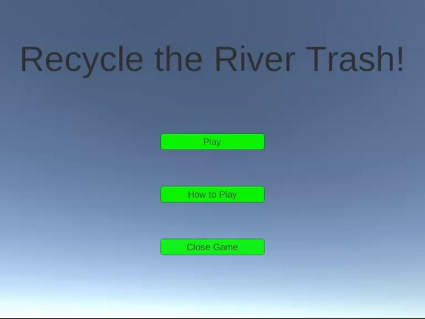 Recycle the River Trash!