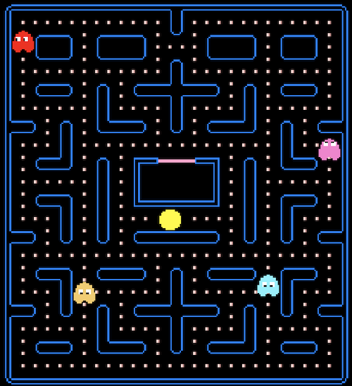 "PacMan Replica (from Noob Tuts' ""Unity 2D Pac-Man Tutorial"")"