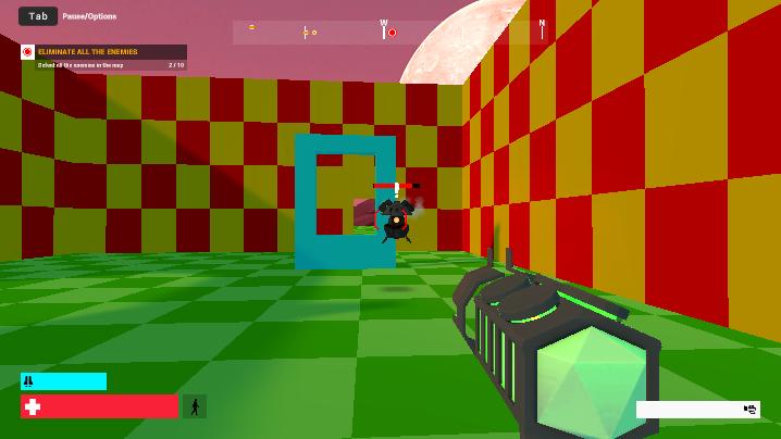 FPS Robot-Destroyer Shooter