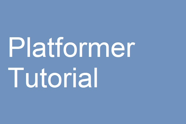 PlatformerTutorial