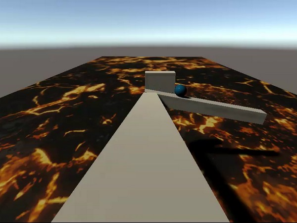 The floor is lava (sort of)
