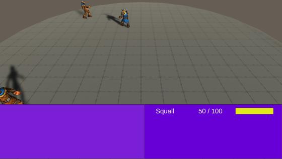 Active Time Battle (ATB) simulation prototype