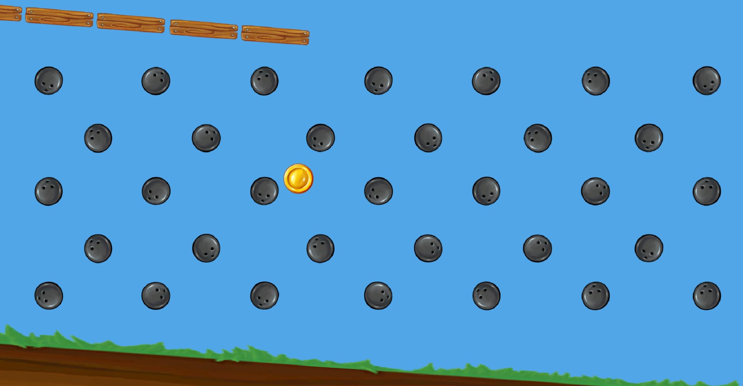 Coin Among Bowling Balls