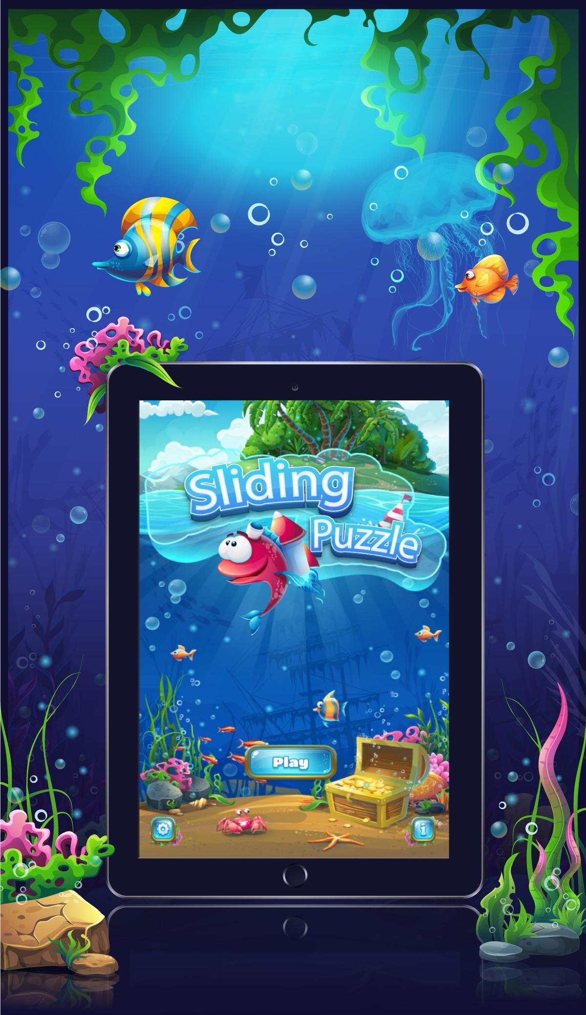 sliding puzzle casual game idea