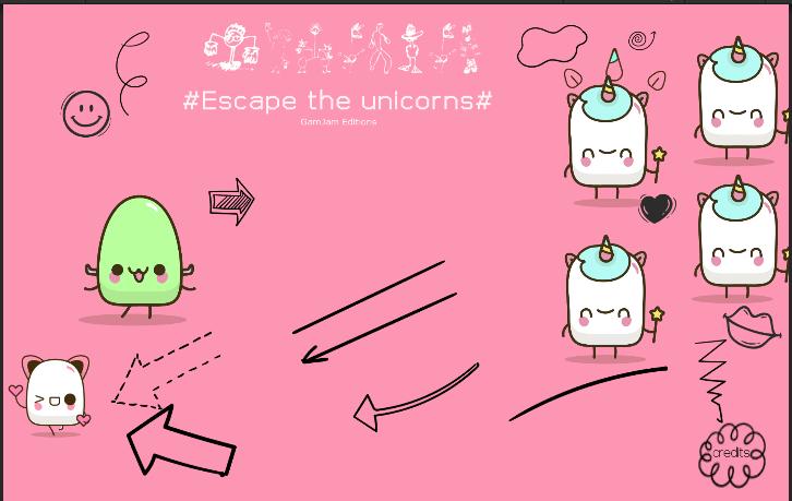 #ESCAPE THE UNICORNS