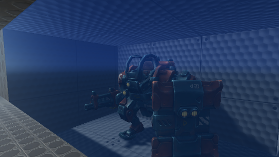 Cinemachine, lights, and mechs (oh my) prototype
