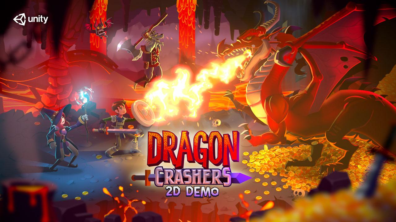 Dragon Crashers - 2D Sample Project
