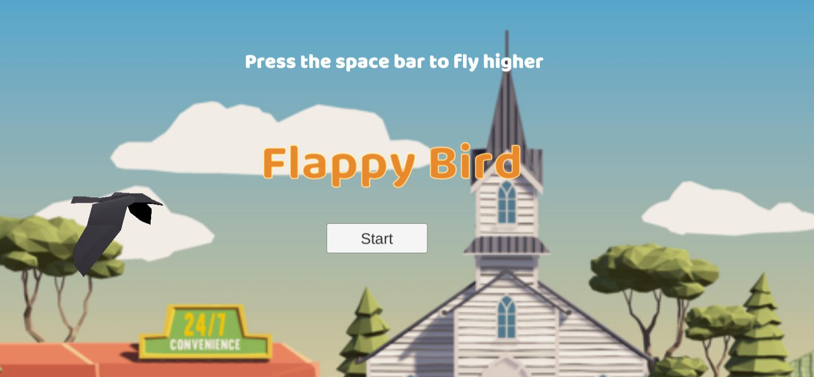 Flappy Bird in 3D!