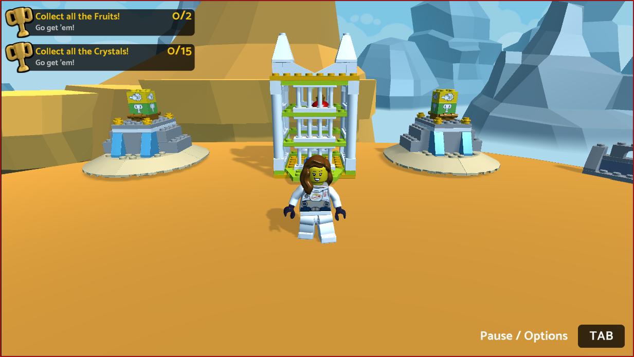 LEGO Islands Minigame