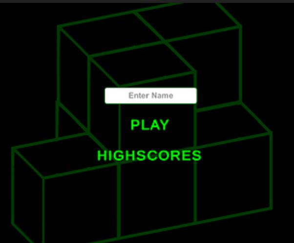 !SEE LINK BELOW! Simple Tetris with online highscore