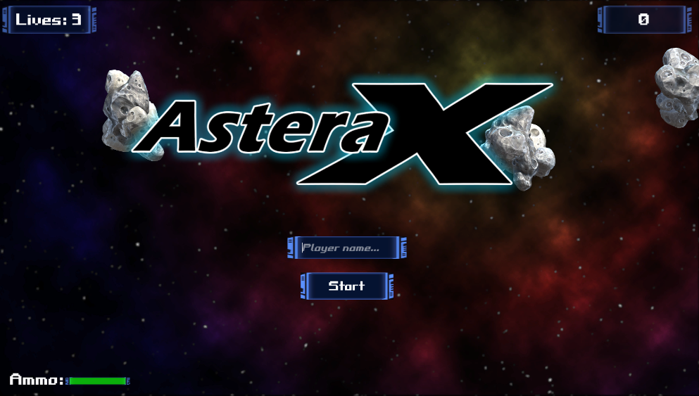 AsteraX - Space Shooter