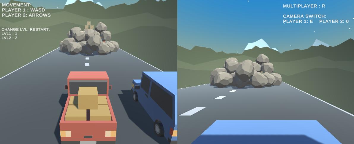 3D CAR GAME!