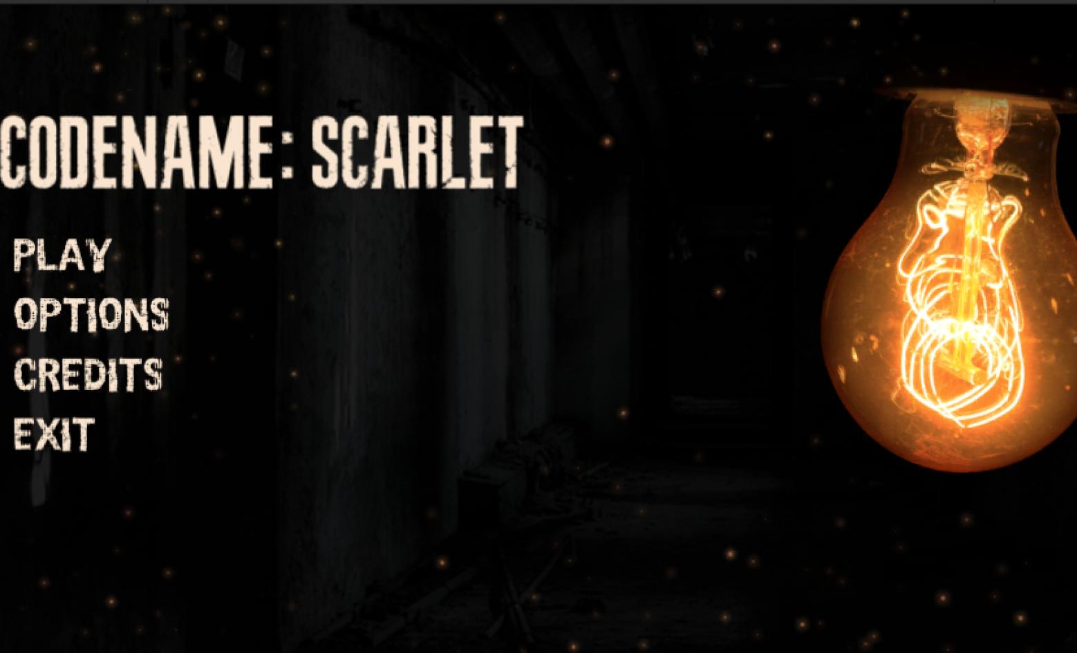 Codename Scarlet - Resident Evil Clone