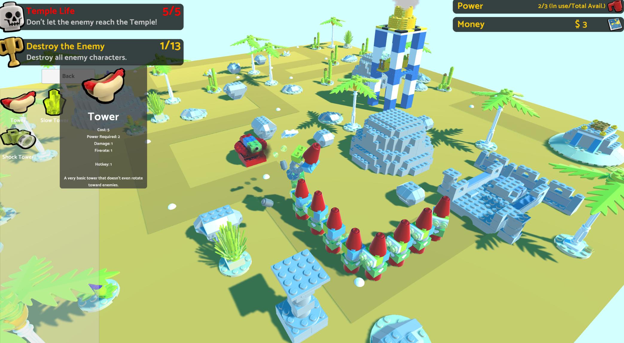 Lego Tower Defense