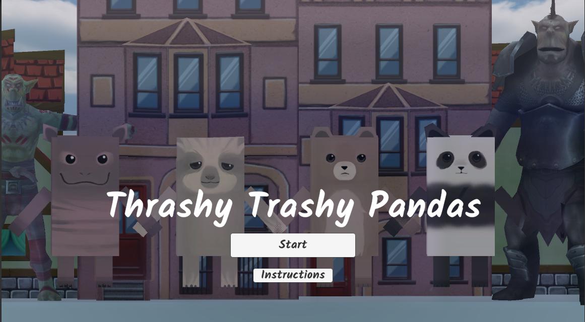 Thrashy Trashy pandas