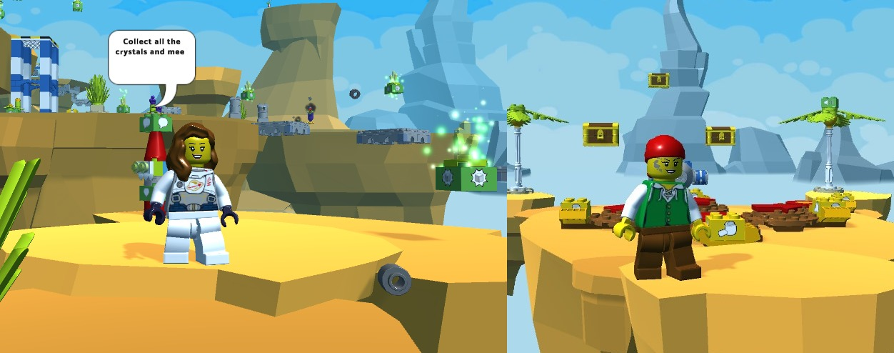 Ups and Downs With 3 levels! - Platformer, Shooting and Dodge!!